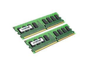 Crucial  Sdram Memory Module 4gb [2 * 2gb] 800mhz Ddr2-800/pc2-6400 Non-ecc Ddr2 Sdram 240-pin Dimm