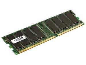 Crucial Sdram Memory Module 1gb [1 * 1gb] 400mhz Ddr400/pc3200 Non-ecc  Ddr Sdram  184-pin