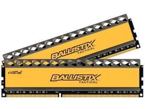 Crucial Ballistix Memory Module  8 Gb [2 * 4 Gb] Ddr3 Sdram 1866 Mhz Ddr3-1866/pc3-14900 Non-ecc Unbuffered 240-pin Dimm