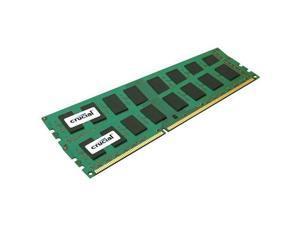 Crucial Sdram Memory Module 4 Gb [2 * 2 Gb] Ddr3 Sdram 1600 Mhz Ddr3-1600/pc3-12800 Non-ecc Unbuffered 240-pin Dimm