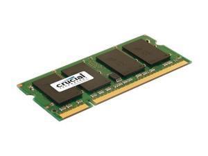 Crucial  Sdram Memory Module 2gb 800mhz Ddr2-800/pc2-6400 Non-ecc Ddr2 Sdram 200-pin Sodimm