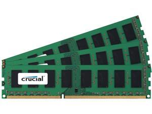 Crucial 6 Gb [3 * 2 Gb] Ddr3 Sdram 1600 Mhz Ddr3-1600/pc3-12800 Non-ecc Unbuffered 240-pin Dimm