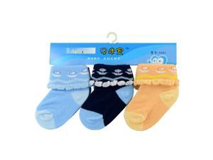 3 Pairs Cute Unisex Baby Infant Kids Boys Sock Child Toddler Girl warmer Socks 6-18 month