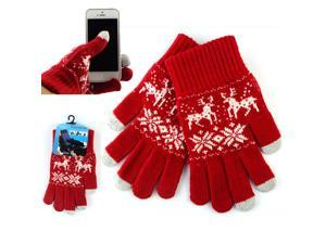 Women Men's Ultra Thick Smart Touch Screen Gloves Warm Gloves For Iphone Galaxy