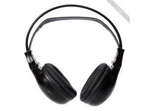 modern S-606 Foldable Infrared Wireless Headphones Black