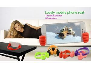 New Multifunctional Big Finger Desk Stents Universal Mobile Phone Holder And Tablet Stand Phone Accessories For Iphone 4 5 6 6 plus  Samsung Galaxy S4 S5 S6 HTC LG