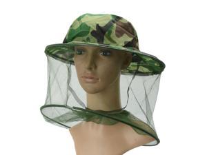 Camouflage Beekeeping Beekeeper Hat Anti-mosquito Bee Bug Insect Fly Mask Cap Hat With Head Net Mesh Face Protection Outdoor Fishing Equipment