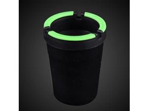 2015 Fashion Hot Sale Small Fluorescence Light Ashtray Convenient Plastic Supreme Portable Ashtray Car Ashtray