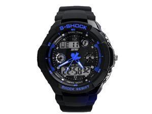 Brand Watch SKMEI Mens' Sports Wristwatches 50M Wateproof Japan Clip Quartz Watches Analog Digital Watches