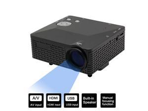 Vibob Mini HD LED Projector Home Cinema Theater For Iphone, Ipad, PC HDMI, AV, VGA, USB, SD