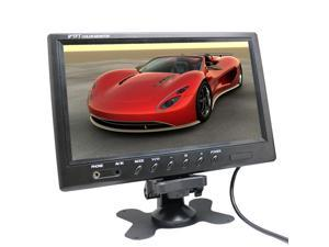 """Vibob 9"""" TFT LCD Color Car Monitors With Truck/Auto Rear View Backup CCD Camera System-RV 2 video/1 audio input"""