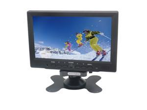 "Sourcingbay YT07P 7"" Digital TFT LED Color Receiver Car/PC Monitor With HDMI/VGA/AV Input(Black)"