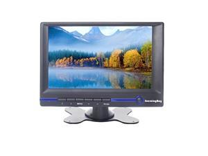 Sourcingbay Adjustable Mount 7 Inch TFT LCD Monitor with HDMI/VGA/AV Input - Support 800x480,16:9,Built-in Speaker (Fw639, Black)