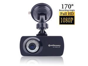 Vibob Camp Discovery Full HD 1080p Car Dash Cam, 2.7 Inch Screen, G-sensor, Wide Angle Lens(Black)