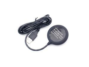Sourcingbay USB GPS Receiver - SiRF Star IV GPS Chipset, Magnetic Base, WAAS Enabled, Software CD-Black