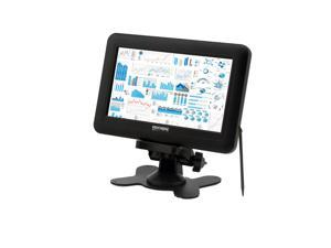 Sourcingbay Portable 7 Inch TFT LCD 4 Wire Resistive USB Powered Touchscreen Monitor for Computer(Black)
