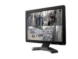"Vibob 15"" CCTV TFT LCD Monitor With BNC/HDMI/VGA/USB Input (Black)"