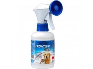 Frontline Spray Treatment for Cats and Dogs (Merial) - 250 mL Bottle