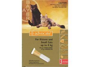 Advocate Small Cat Upto 4kg 3 Pack