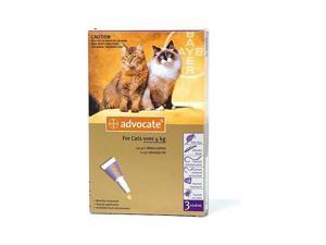 Advocate Large Cat 4-8kg 3 Pack