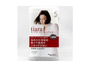 [A] Shiseido tiara cream hair color 5 [SMTH]