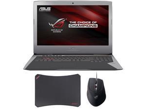 """ASUS ROG G752VY 17.3"""" Gaming Laptop - Core i7 6700HQ (2.60 GHz), 16 GB Memory 1TB HDD + 128GB SSD , NVIDIA GTX980M 4GB GDDR5 + Gaming Bundle"""