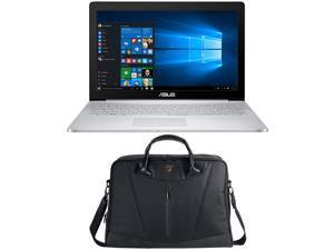"ASUS Zenbook Pro UX501VW-DS71T 15.6"" 4K Touchscreen Laptop - Core i7-6700HQ, 16GB Memory, NVIDIA Geforce GTX960M 2G, 512GB SSD + Lamborghini Bag"