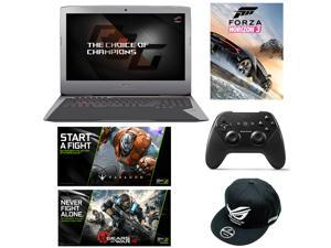ASUS ROG G752VS 17-inch Full-HD Intel Core i7 GTX 1070 8GB 1TB HDD Gaming Laptop with Windows 10, Copper Titanium VR Ready + Gaming Bundle