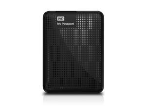 WD My Passport 750GB Portable External Hard Drive Storage USB 3.0 Black [PC]