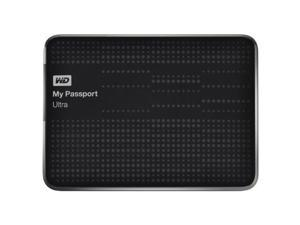 WD My Passport Ultra 2TB Portable External USB 3.0 Hard Drive - Black