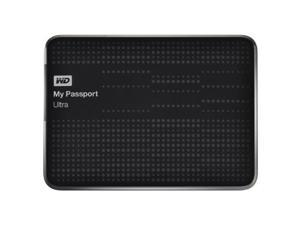 WD My Passport Ultra 500 GB Portable External USB 3.0 Hard Drive with Auto Backup - Black