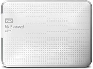 Western Digital My Passport Ultra 1TB USB 3.0 Portable External Hard Drive - White
