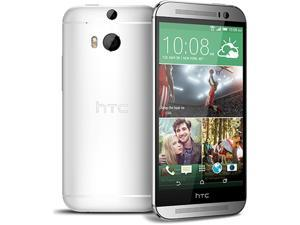 "HTC ONE M8 2014 Unlocked International Model 5"" Full HD - Quad-Core - Silver"