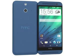 HTC ONE E8  Unlocked Internatioanl Model 16GB, Blue, single sim