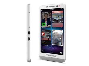 "BlackBerry Z30 White STA100-2 (FACTORY UNLOCKED) 5"" Super AMOLED 16GB 2GB RAM"