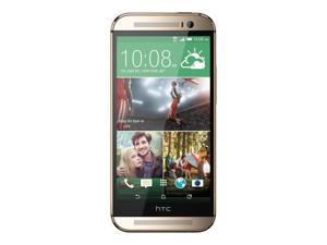 "HTC ONE M8 Gold 16GB (FACTORY UNLOCKED) 5"" Full HD - Quad-Core - International version"