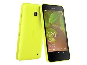 "Nokia Lumia 630 Dual Sim Yellow (FACTORY UNLOCKED) 4.5"" 8GBQuad-core 1.2 GHz"