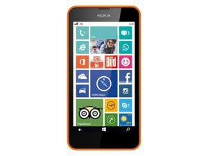 "Nokia Lumia 630 Dual Sim Orange (FACTORY UNLOCKED) 4.5"" 8GBQuad-core 1.2 GHz"