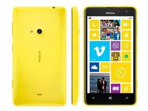 "Nokia Lumia 625 Yellow (FACTORY UNLOCKED) 4.7"" 8GB 5MP Dual-Core 1.2GHz"