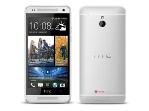 "HTC One Mini Silver 601N (Factory Unlocked) 4.3"" HD 1.4Ghz Duad-Core 16GB"