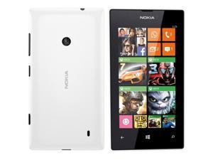 "Nokia Lumia 525 White RM-998 (FACTORY UNLOCKED) 4"" IPS 8GB 5MP 1GB RAM"