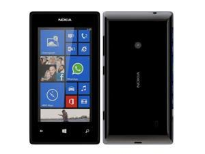 "Nokia Lumia 525 Black RM-998 (FACTORY UNLOCKED) 4"" IPS 8GB 5MP 1GB RAM"
