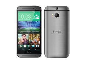 "HTC ONE M8x 2014 Grey (Unlocked International Model) 5"" HD - 2.5GHz Quad-Core - Ultrapixel"