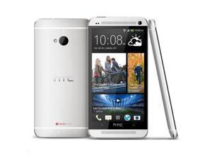 "HTC One 802w Dual Sim Silver (Factory Unlocked) 4.7"" 1.7Ghz Quad-Core 32GB"