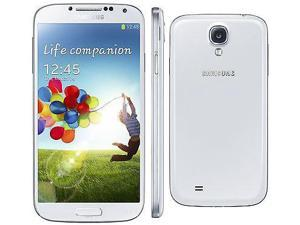 Samsung Galaxy S4 S IV White GT-i9500 (FACTORY UNLOCKED) 16GB Full HD 13MP