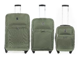 "Champs ""Globe Collection"" 3 pcs Set Spinner luggage"