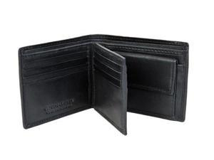CHAMPS Leather Wallet - Bifold Center Wing W change pocket