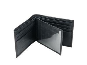CHAMPS Leather Wallet - Bifold Center Wing W/ Window