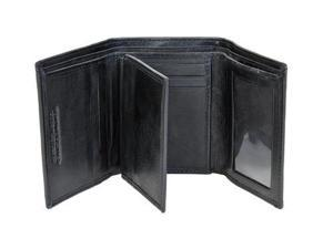 CHAMPS Leather Wallet - Trifold Center Wing