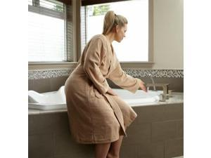 Microfiber Robe  Camel- S/M   bath robes